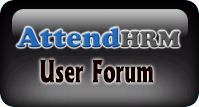 Attend HRM - User Forum