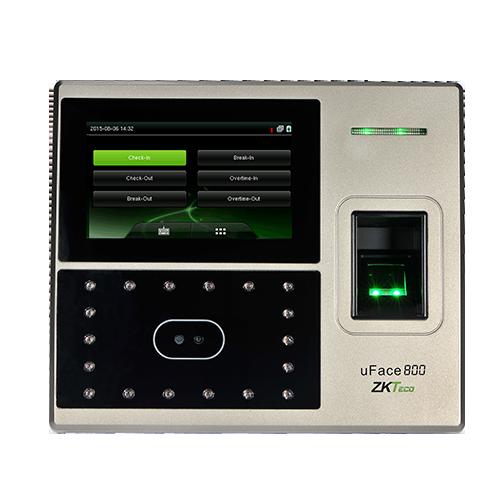 uFace 800 - Multi Biometric Time Attendance Mulimachine